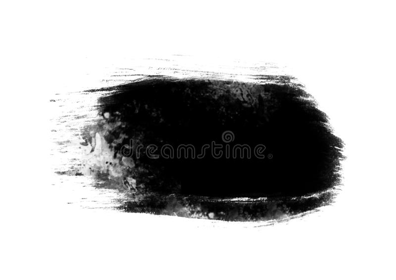 Black graphic color patches brush strokes effect background designs element. Black color graphic patches brush strokes effect for background designs element stock photo