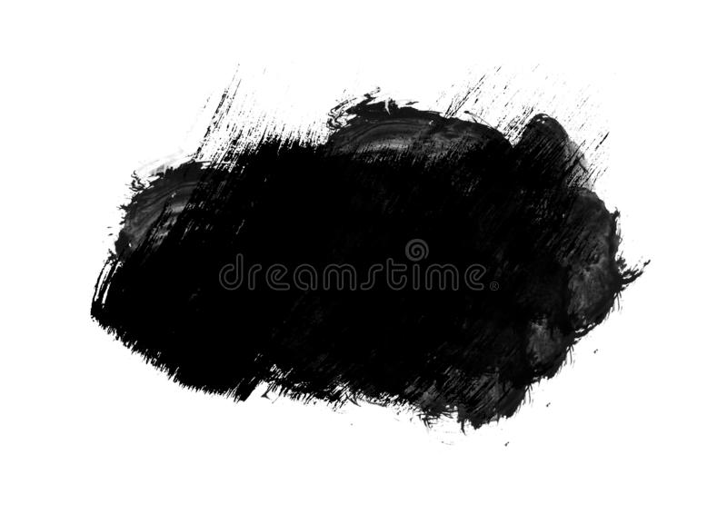 Color patches graphic brush strokes design effect element for ba. Black graphic color patches brush strokes effect background designs element royalty free stock photos