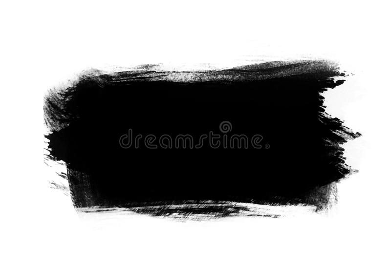 Color patches graphic brush strokes design effect element for ba. Black graphic color patches brush strokes effect background designs element stock photos