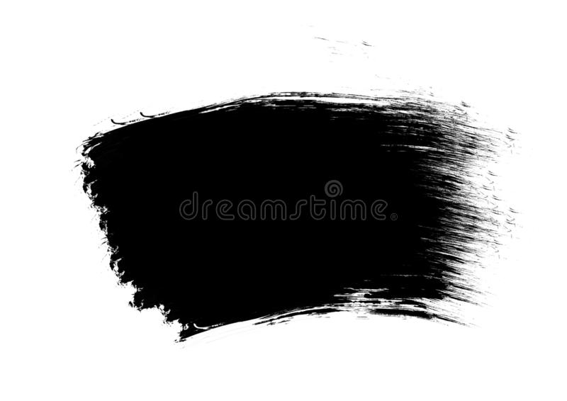 Color patches graphic brush strokes design effect element for background. Black graphic color patches brush strokes effect background designs element royalty free stock photos