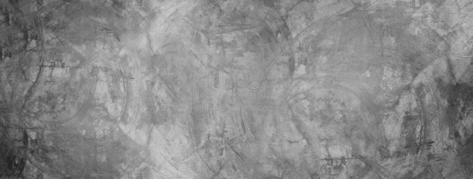 black and gray cement wall banner background royalty free stock image