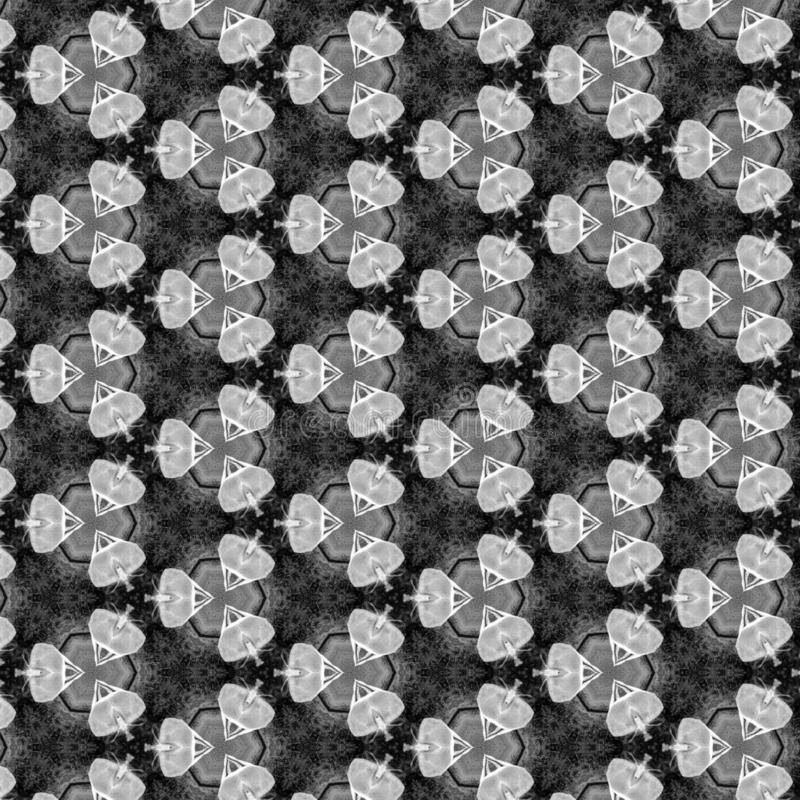 Black Gray And White Geometirc Abstract Pattern vector illustration