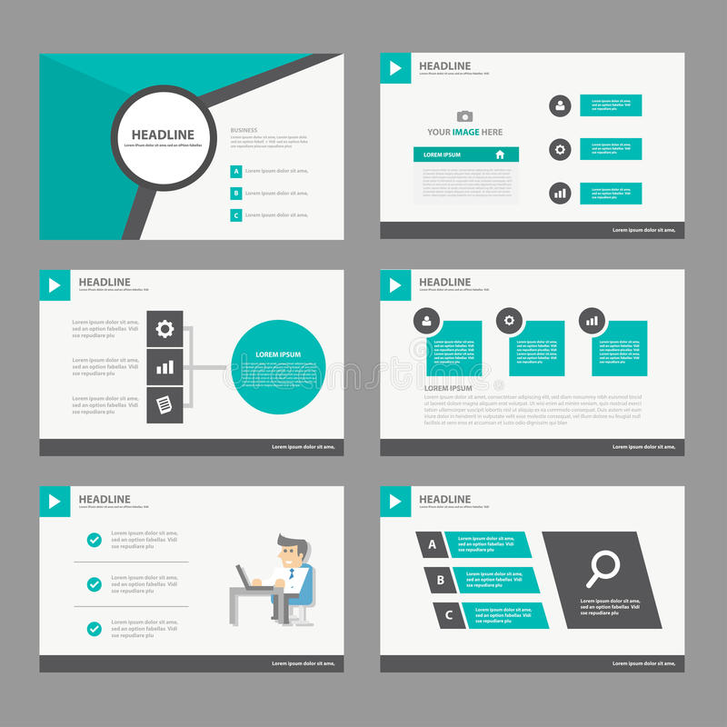 black green presentation template annual report brochure flyer, Report Presentation Template, Powerpoint templates