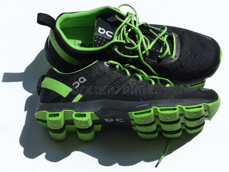 Black Green Sneakers Free Public Domain Cc0 Image
