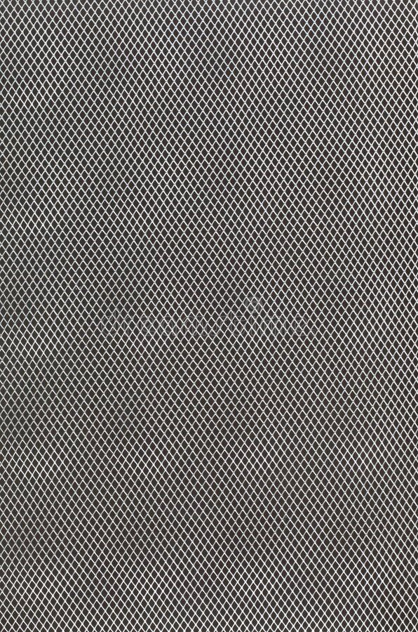 Black grey abstract metal grid background stock photography