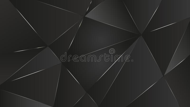 black ground abstract vector graphic light wallpaper royalty free illustration