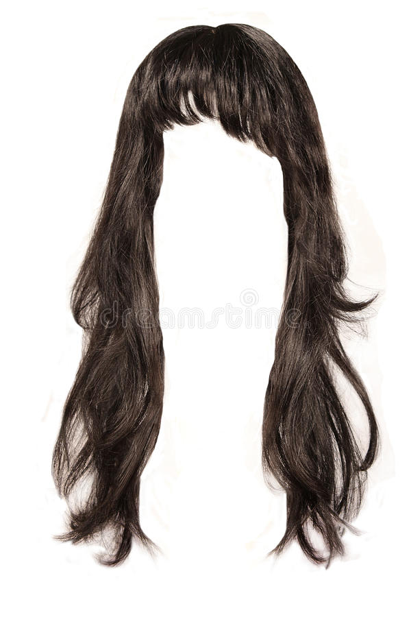 Black hair royalty free stock photography