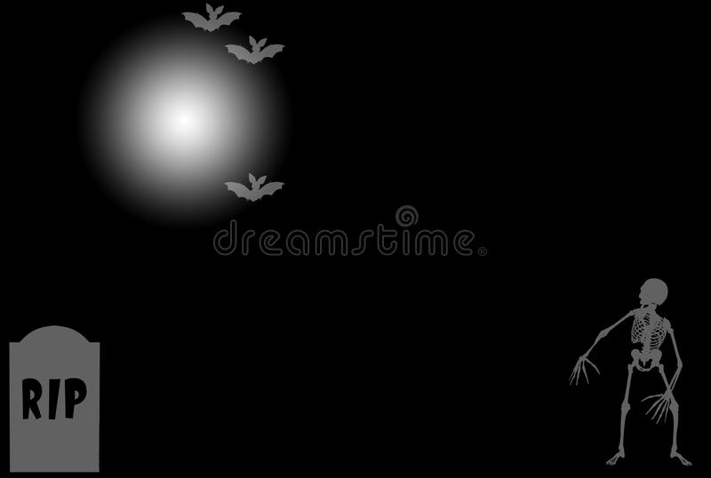 Black halloween background royalty free stock images