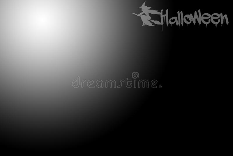 Black halloween background stock photo