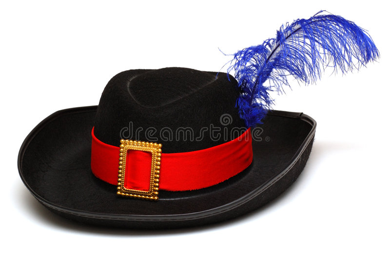 Download Black hat stock image. Image of blue, classic, clasp, felt - 7908459