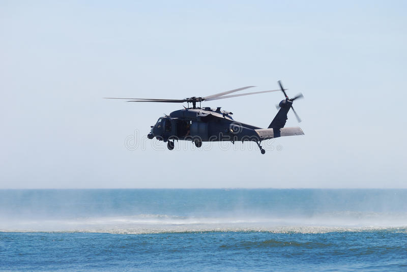 Black Hawk helicopter royalty free stock photos