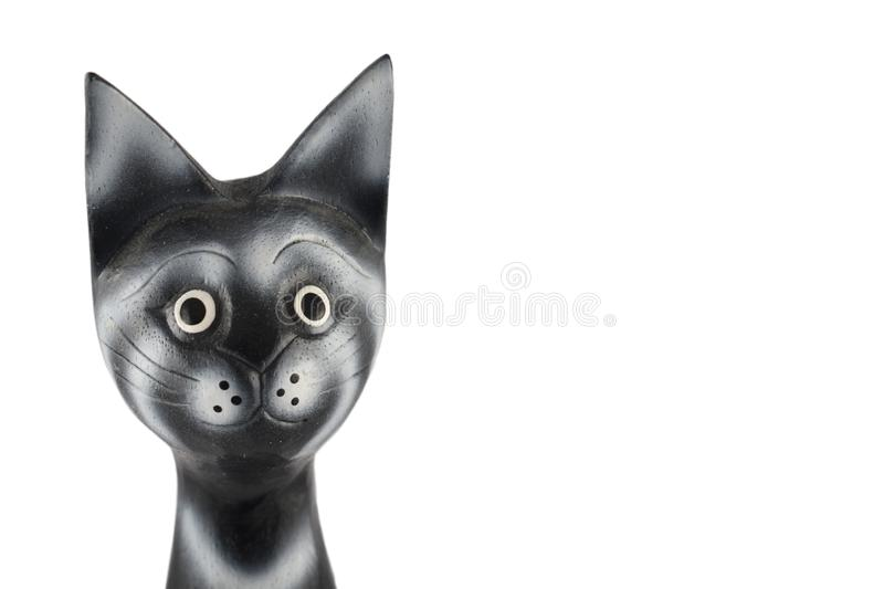 Black head cat stock images royalty free stock photos