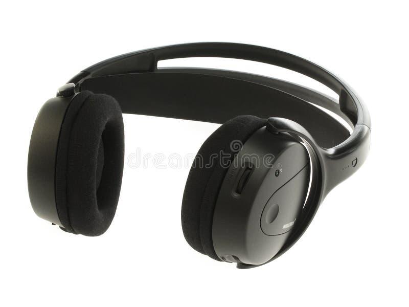 Download Black Headphones Stock Image - Image: 149601