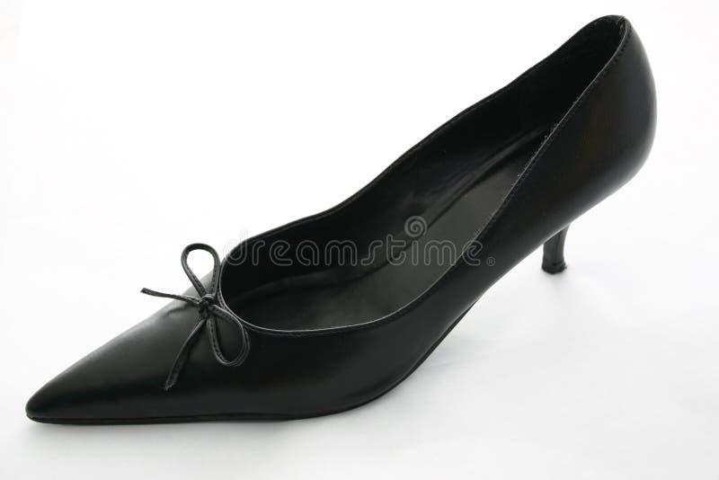 Black heel stock photo