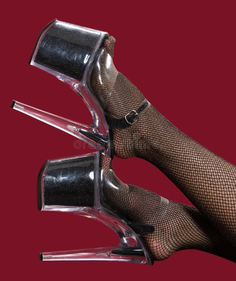 Download Black heels stock photo. Image of shiny, glamor, pretty - 17155614