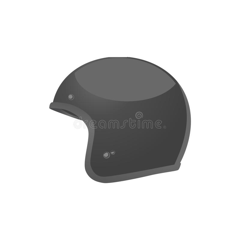 Black helmet royalty free stock images