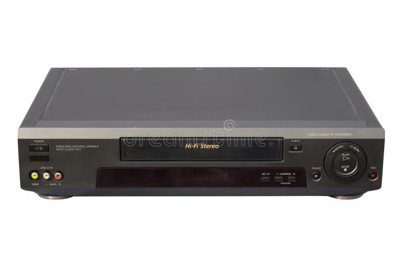 Black Hi-Fi VCR royalty free stock photo