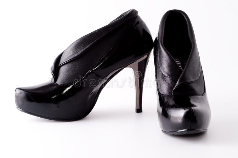Download Black high heels shoes stock image. Image of isolated - 10964017