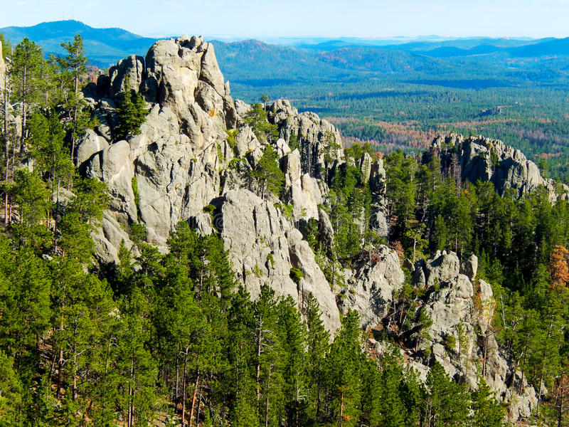 Black Hills, South Dakota foto de stock