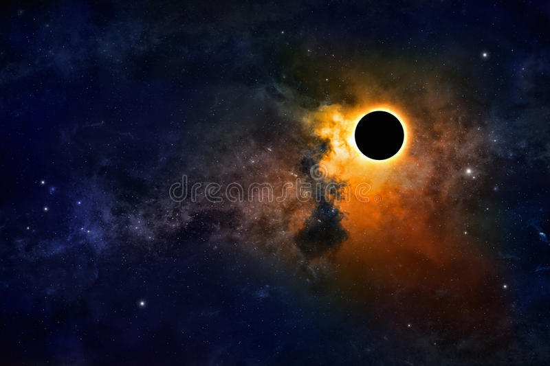 Black hole royalty free stock photo