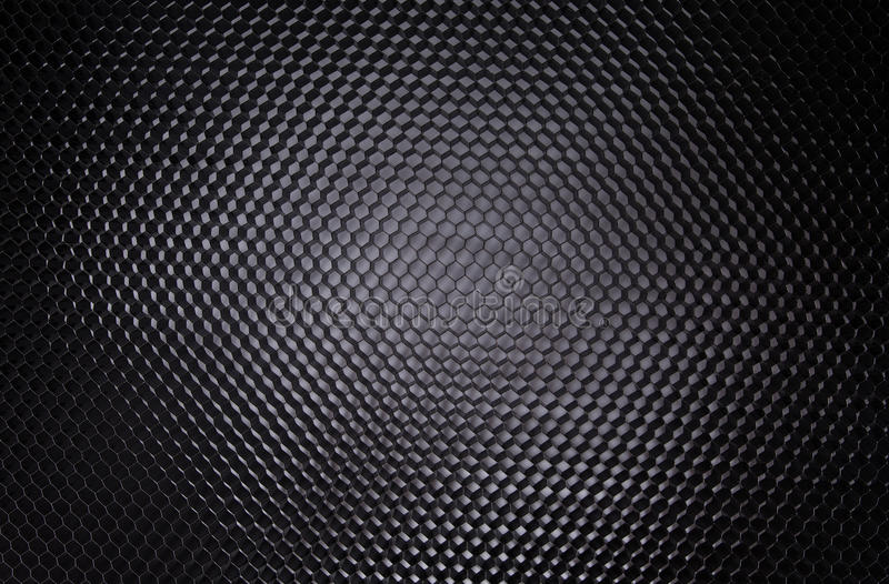 Black Honeycomb Abstract Background royalty free stock images