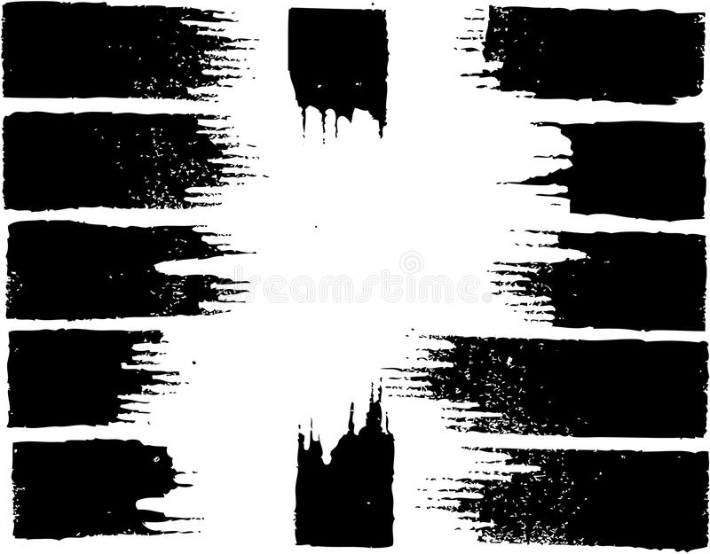 Download Black ink pen traces stock vector. Illustration of tail - 18884901