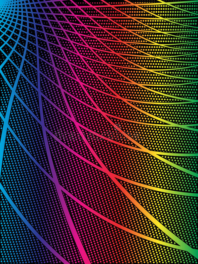 Download Black And Iridescent Techno Background Stock Vector - Image: 12481949