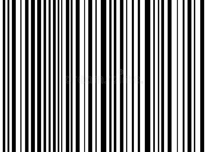 Irregularly stripes background black white stock illustration