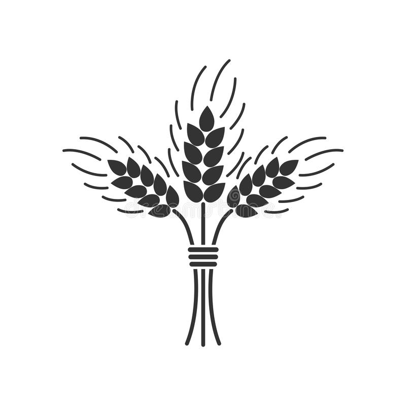 sheaf of wheat Royalty Free Vector Clip Art illustration  -food1227-CoolCLIPS.com