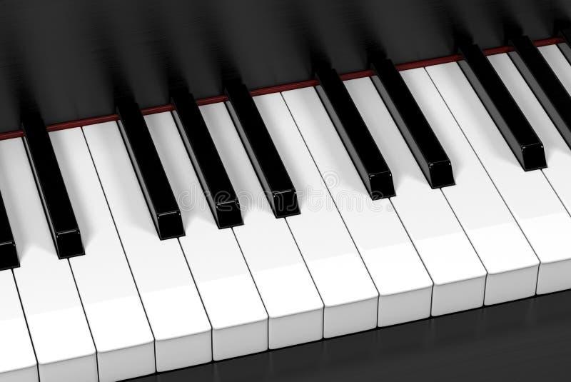 black ivory keys piano white Μουσικό υπόβαθρο στοκ φωτογραφία
