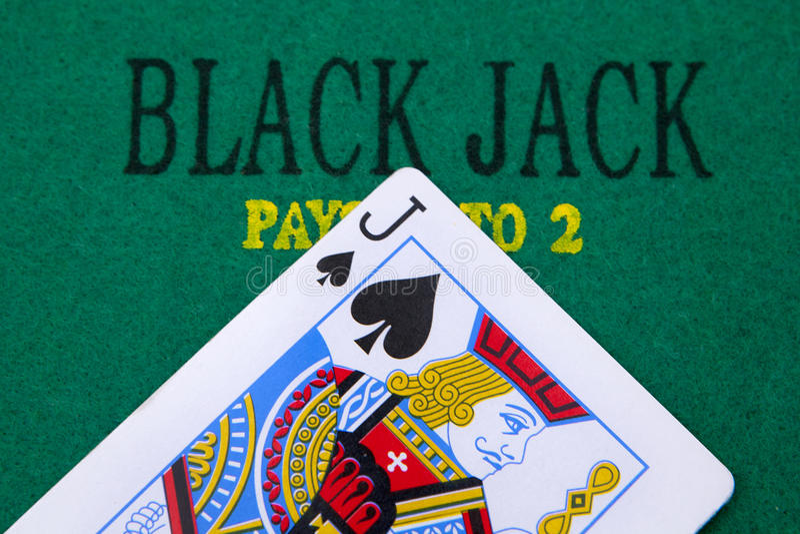 Black Jack Stock Photography