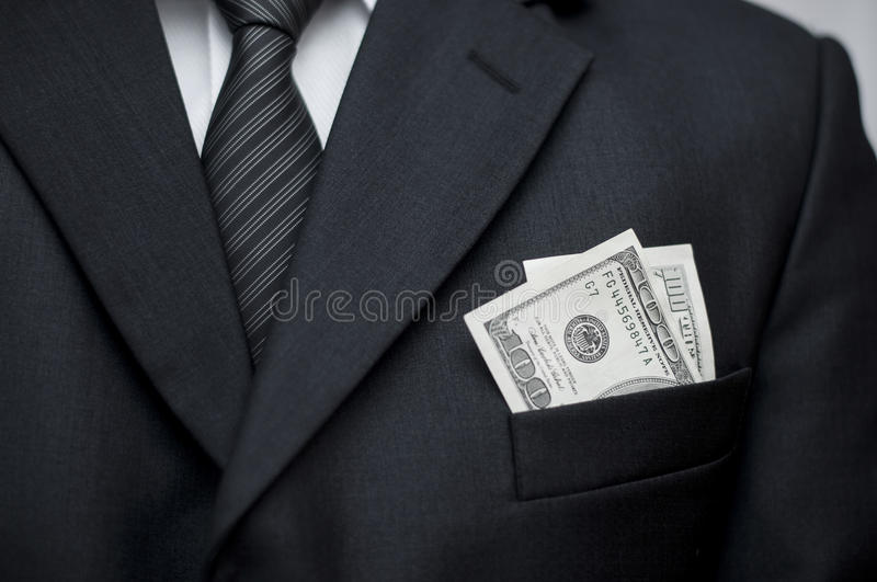 Download $100 In Pocket Royalty Free Stock Images - Image: 30185589
