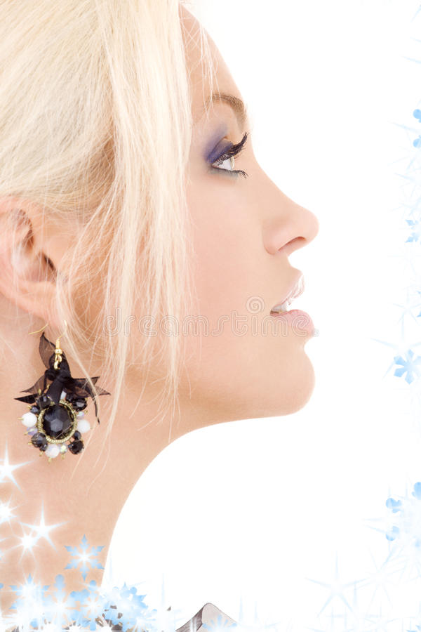 Black jewelry royalty free stock photography