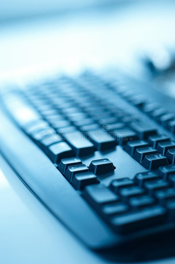 Download Black keyboard stock photo. Image of blurry, close, technology - 16735588