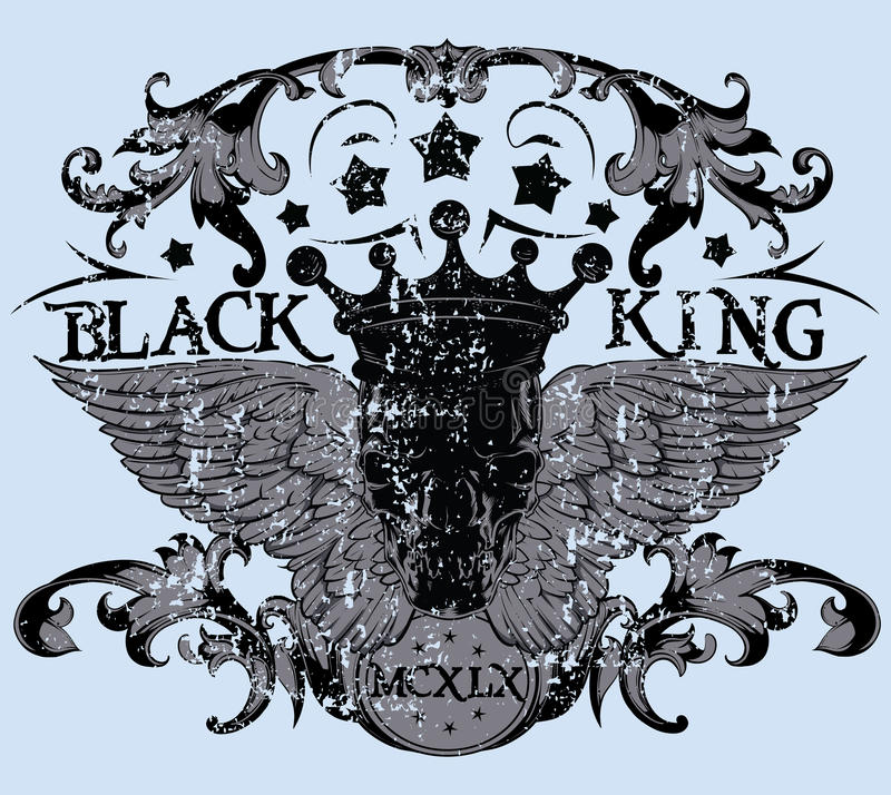 Free Black King Royalty Free Stock Images - 34644649