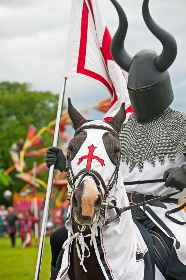 Black Knight royalty free stock photos