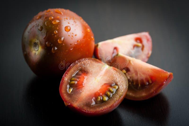 Black Krim Tomatoes royalty free stock photos