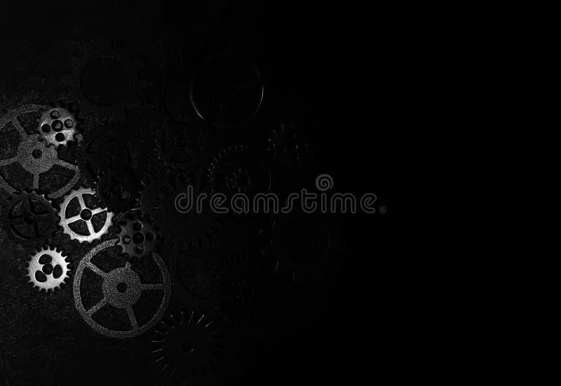 black kugghjul arkivfoton