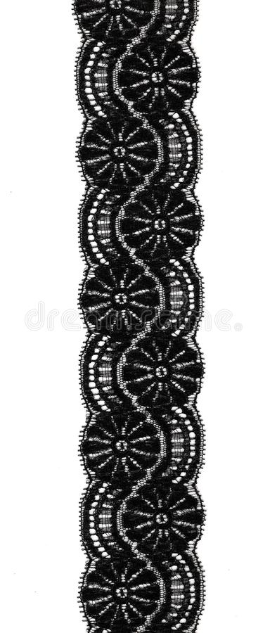 Download Black lace stock image. Image of craft, fabric, contrast - 4027645