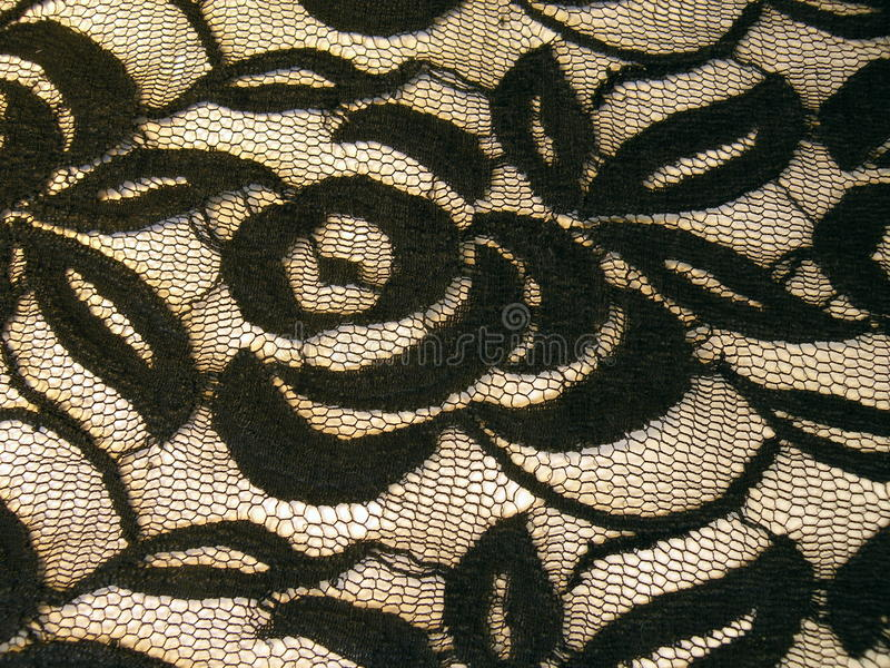 Download Black lace fabric stock image. Image of luxurious, hole - 39515129