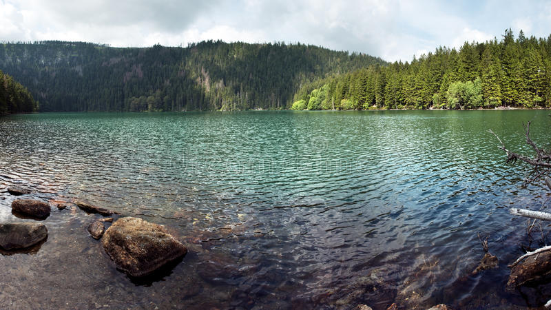 Download Black Lake stock photo. Image of jezero, landscape, panorama - 20991832