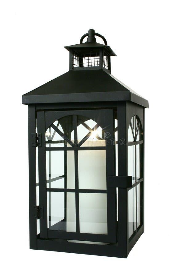 Free Black Lantern Over White Royalty Free Stock Image - 444846