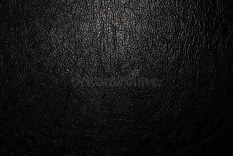 Black leather. Background with light