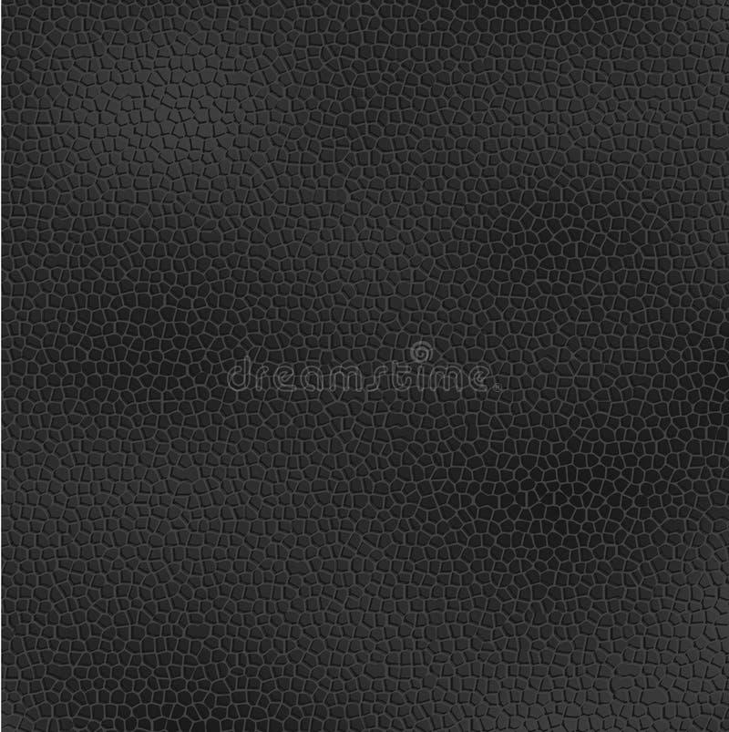 Black leather royalty free illustration