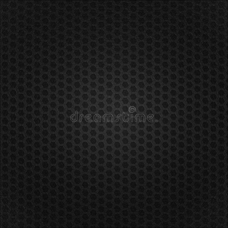 Download Black leather background stock illustration. Image of honeycomb - 23206316