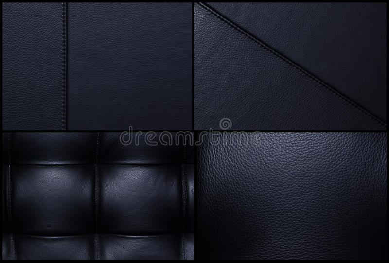 Black leather backgrounds - Bulk