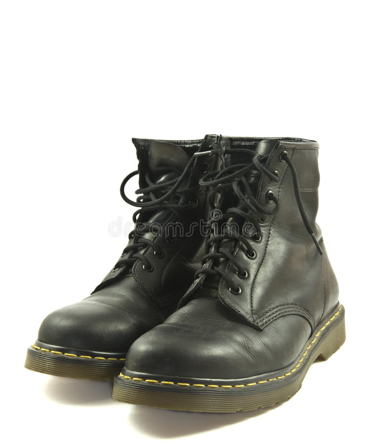 Free Black Leather Boots Royalty Free Stock Photos - 17247658