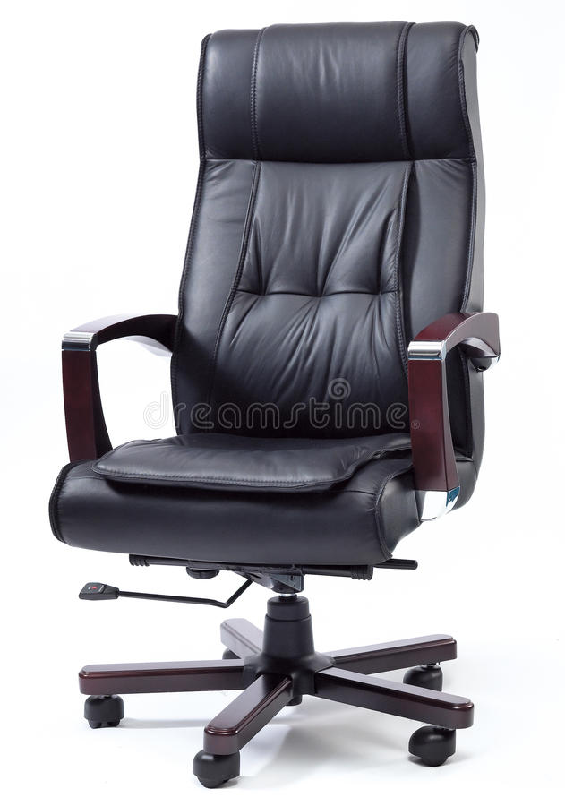 Download Black Leather Boss Chair Stock Photo. Image Of Boss, Background    40684628