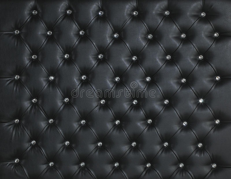 Download BLACK LEATHER DIAMOND STUDDED LUXURY BACKGROUND Stock Photo - Image of black, soft: 30356428
