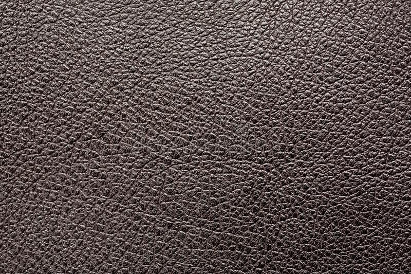 Black leather macro shot, seamless abstract texture.  royalty free stock photo